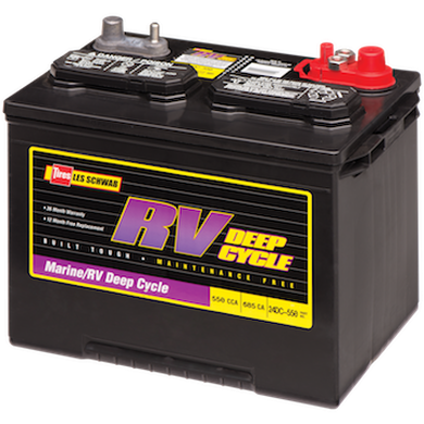 Marine/RV Deep Cycle BatteryMarine/RV Deep Cycle Battery, , hi-res