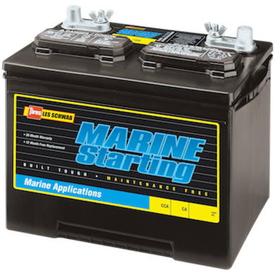 Marine Starting BatteryMarine Starting Battery, , hi-res