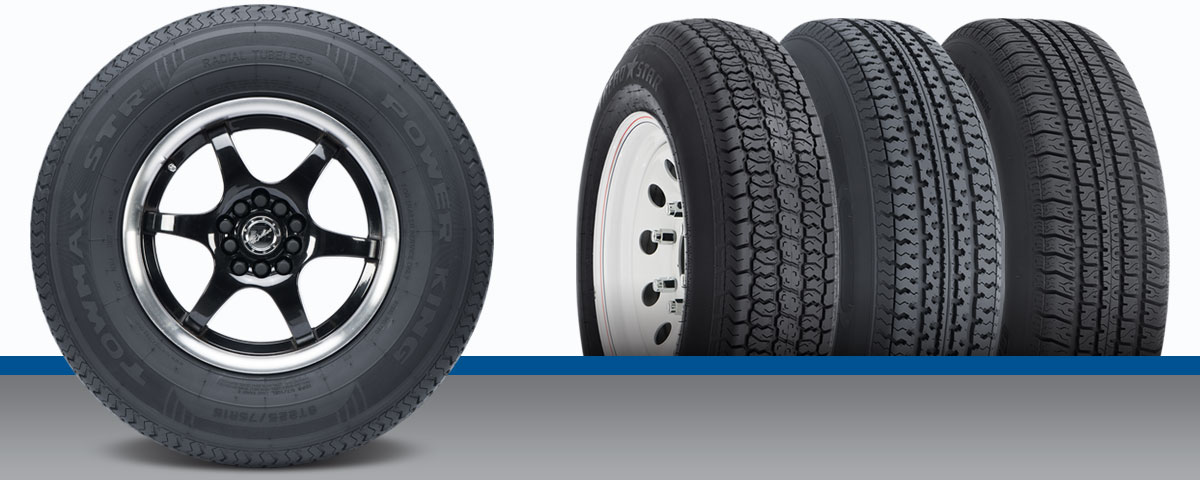 Travel trailer tires