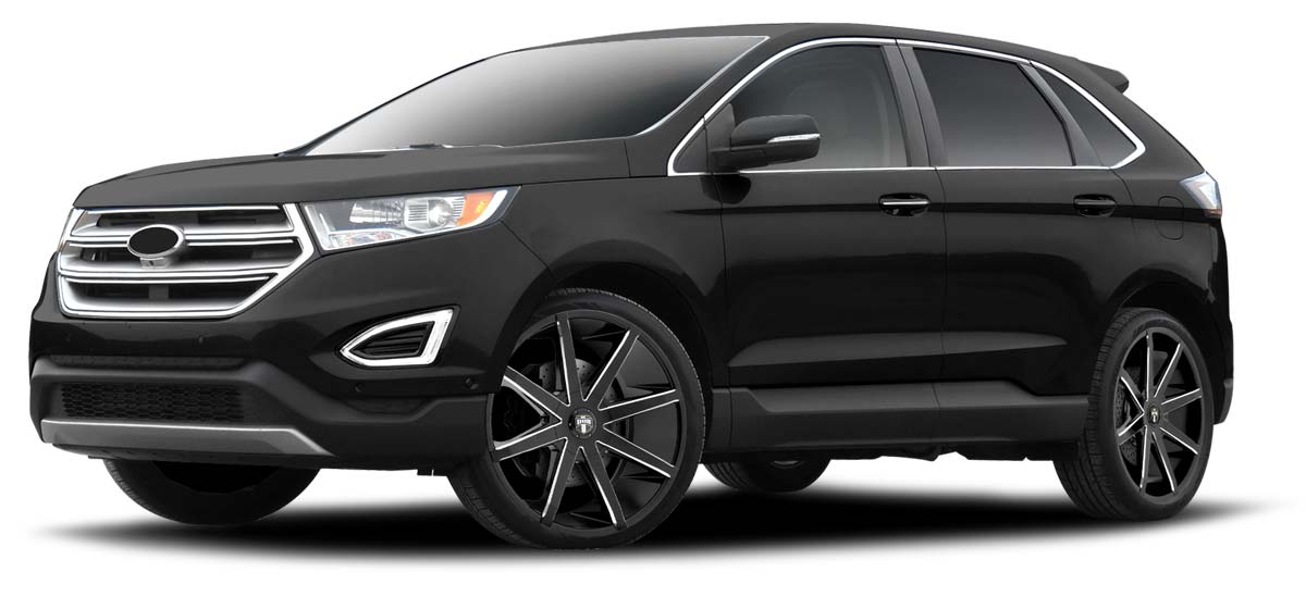 20-inch wheels on a Ford Edge