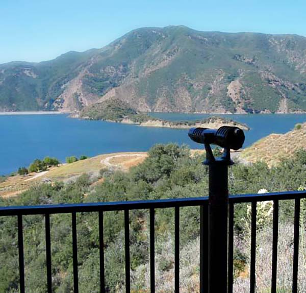 Pyramid Lake from Vista del Lago Visitors Center