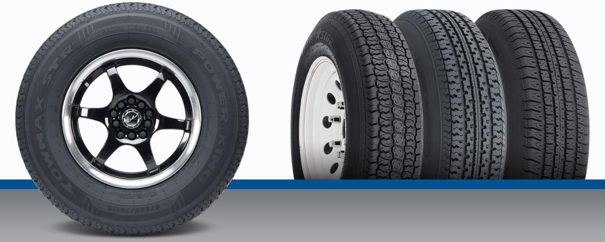 Travel trailer tires