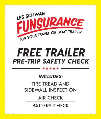 Trailer Tires Pre-Trip Safety Check Coupon
