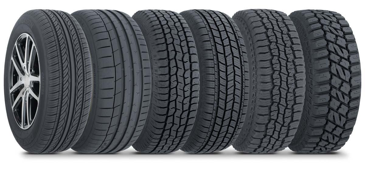 Les Schwab tire lineup