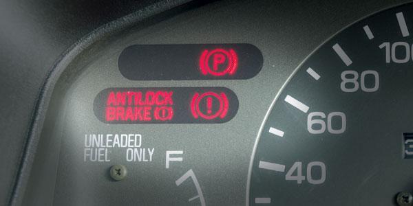 Brake light indicators