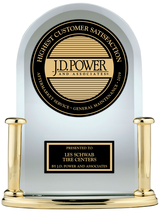 J.D. Power Award for #1 in Aftermarket General Maintenance