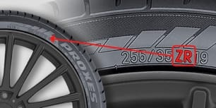 A thumbnail of a photo explaining how to determine a tire's speed category