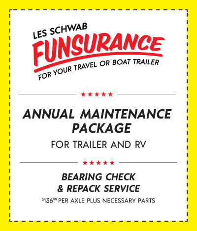 Trailer Tires Annual Maintenance Package Coupon