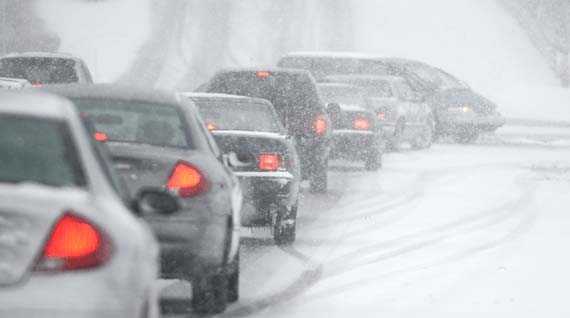 Winter driving means winter tires. The alternative is no fun