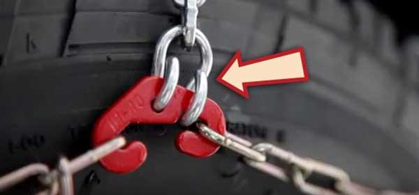 Step 6 - Hook red fastener into link