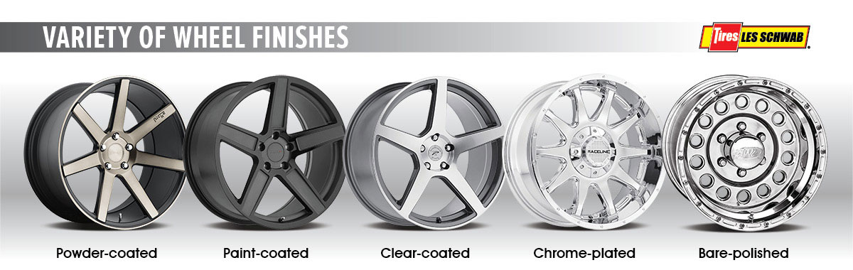 A Simple Guide to Wheel Finishes - Les Schwab