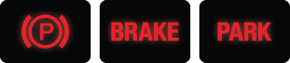 Parking Brake Dash Lights
