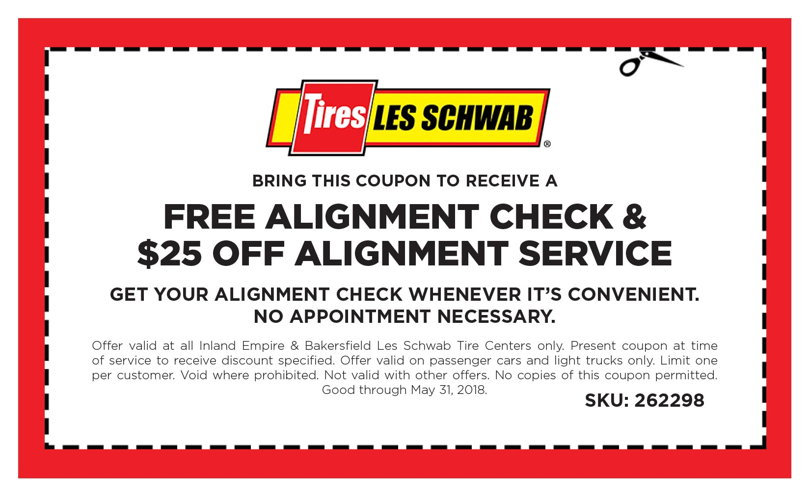 Alignment Offer Coupon