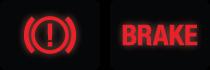 Brake Service Dash Lights