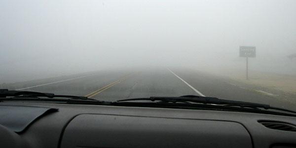 California tule fog