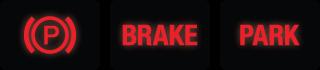 Parking Brake Dash Lights