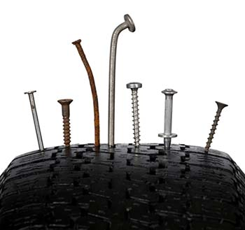 Does your service warranty cover flat tires?