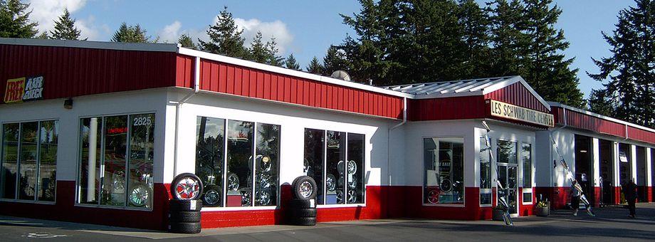Olympia Wa Tire Shop 98502 2825 Capital Mall Dr Sw Les Schwab
