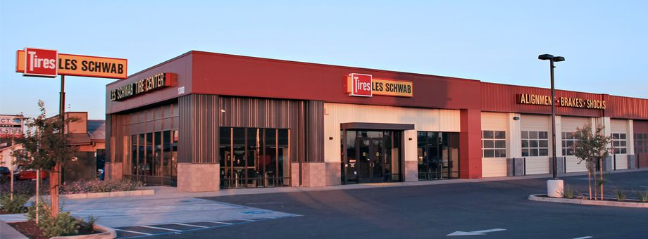 1300 E F St Les Schwab Tire Center